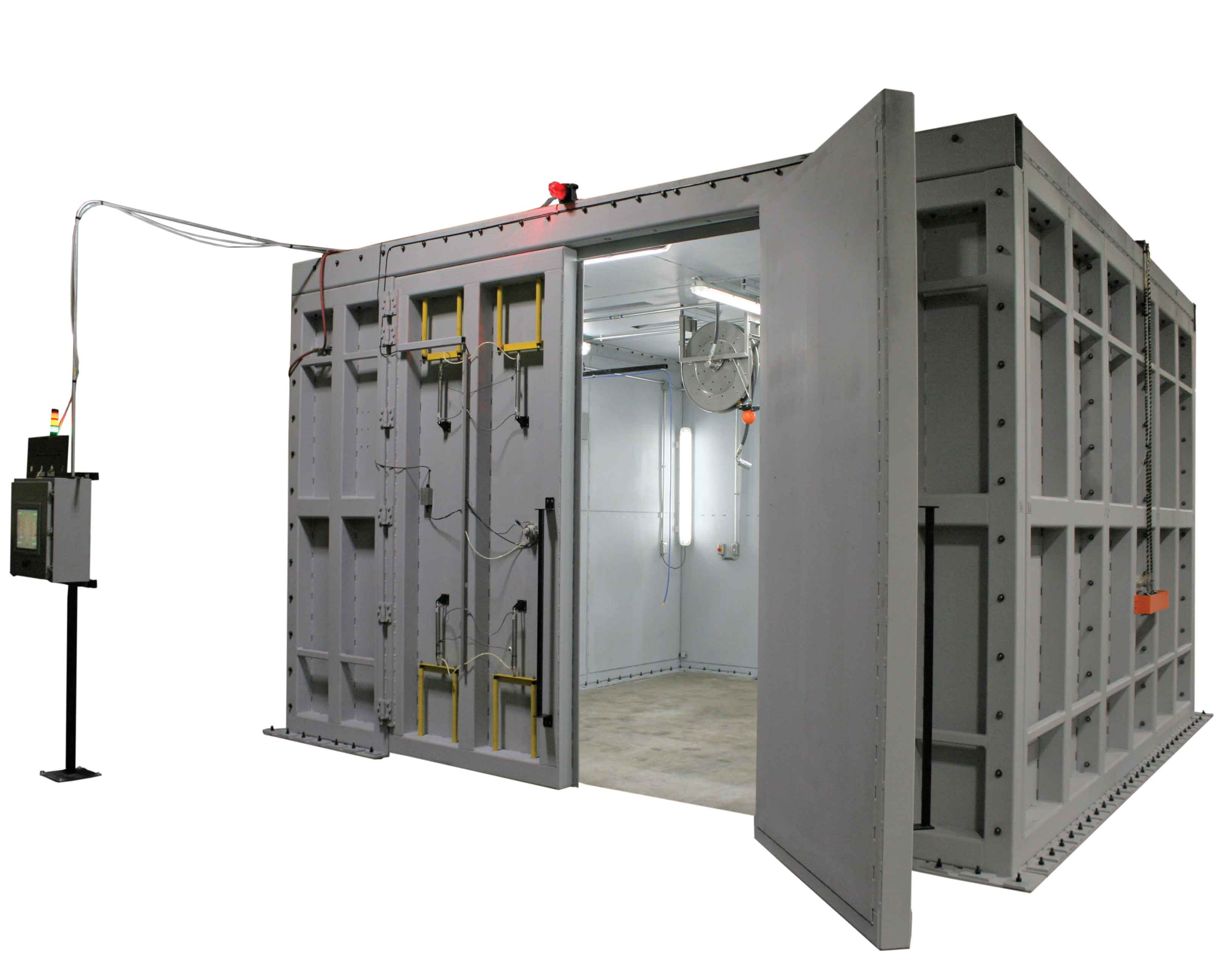 VTI's Chiller Proof Booth for Chiller Sub Assembly Manufacturing