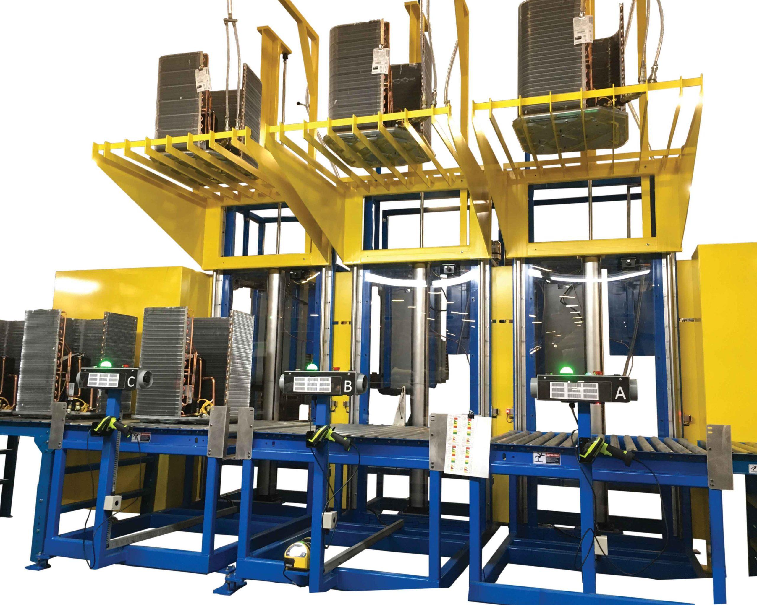 VTI's Evacuation Elevators for Condensing Unit and Heat Pump Manufacturing