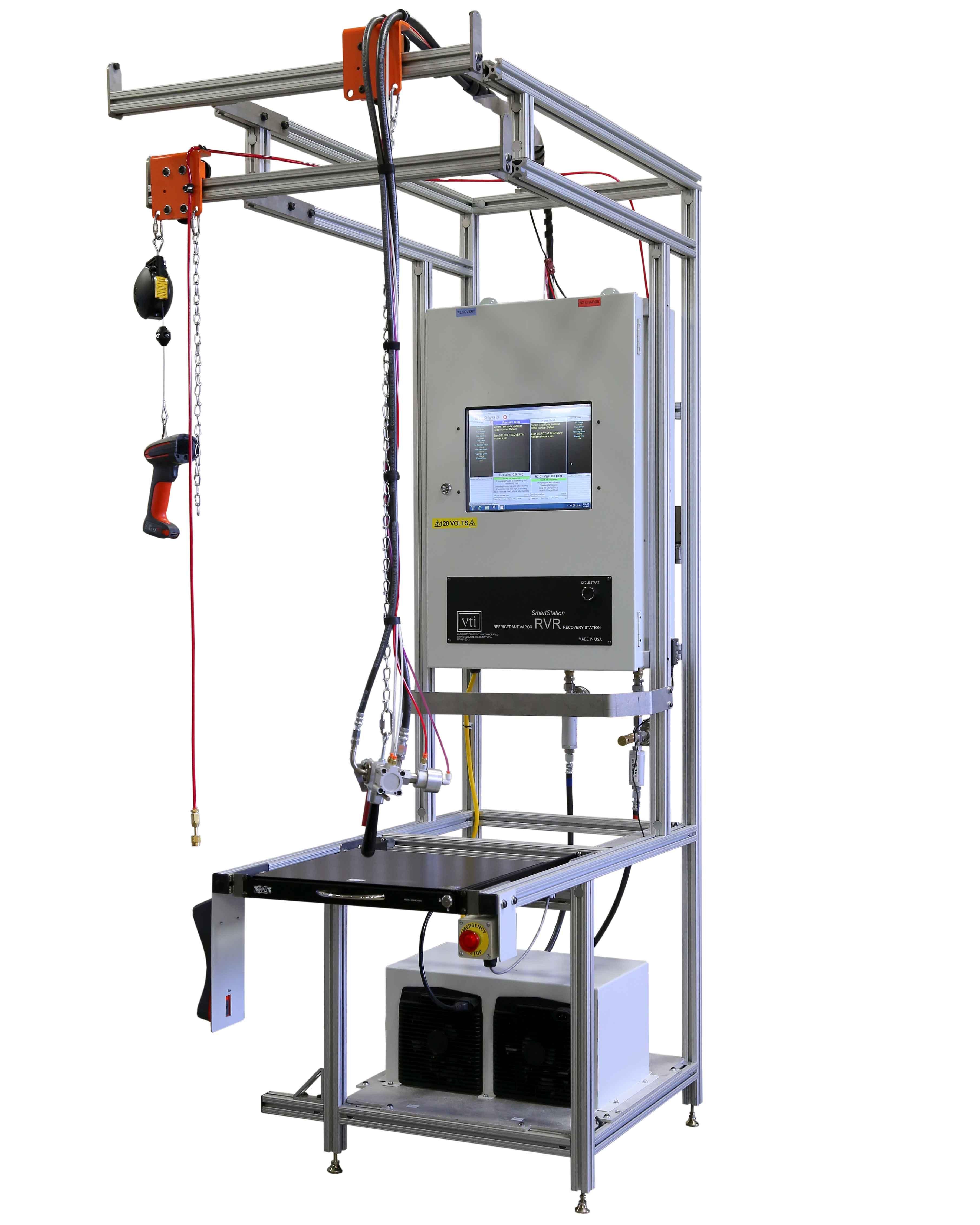 VTI's Refrigerant Vapor Recovery (RVR) System for A-Coil Manufacturing