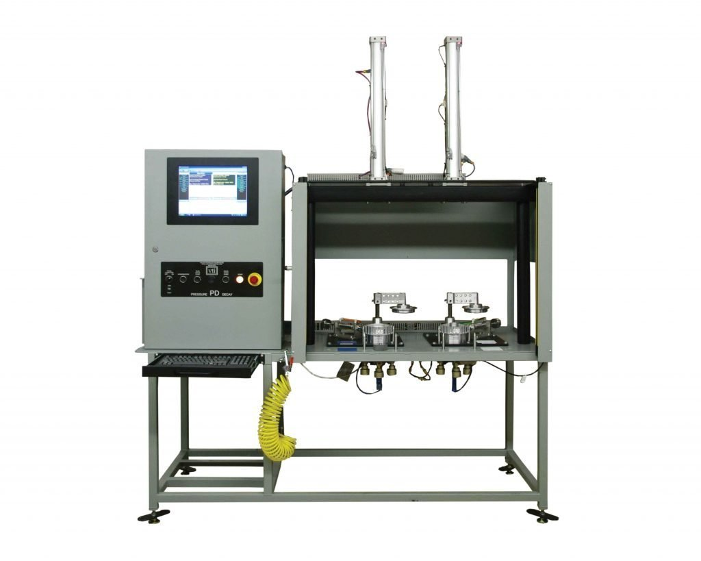 VTI's Automotive Transmission Cast Component Pressure Decay Tester