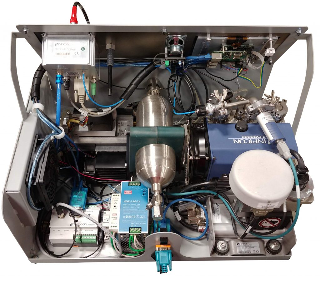 VTI's H2HS-PRO Hydrogen Helium Sniffer Internals