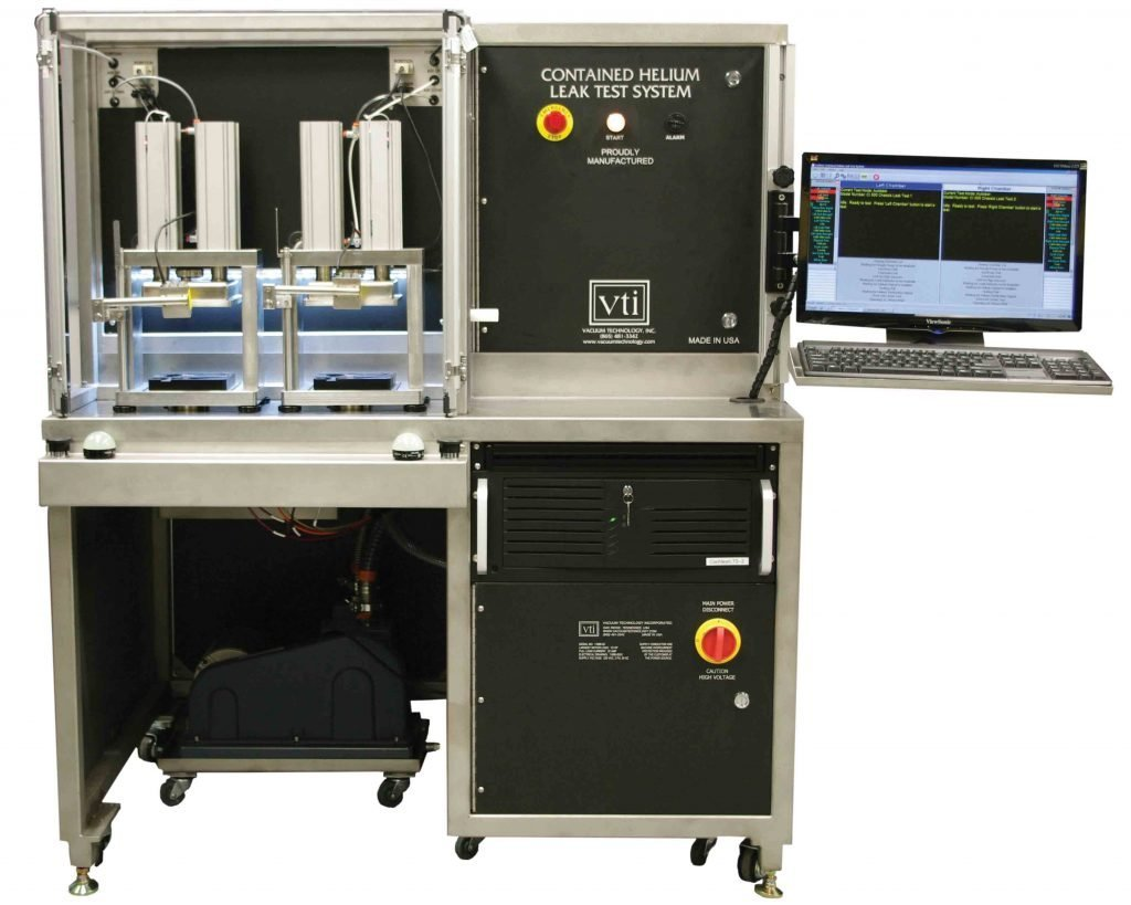 VTI's Hearing Aid Implant Helium E-10 Leak Test System - Medical Leak Testing