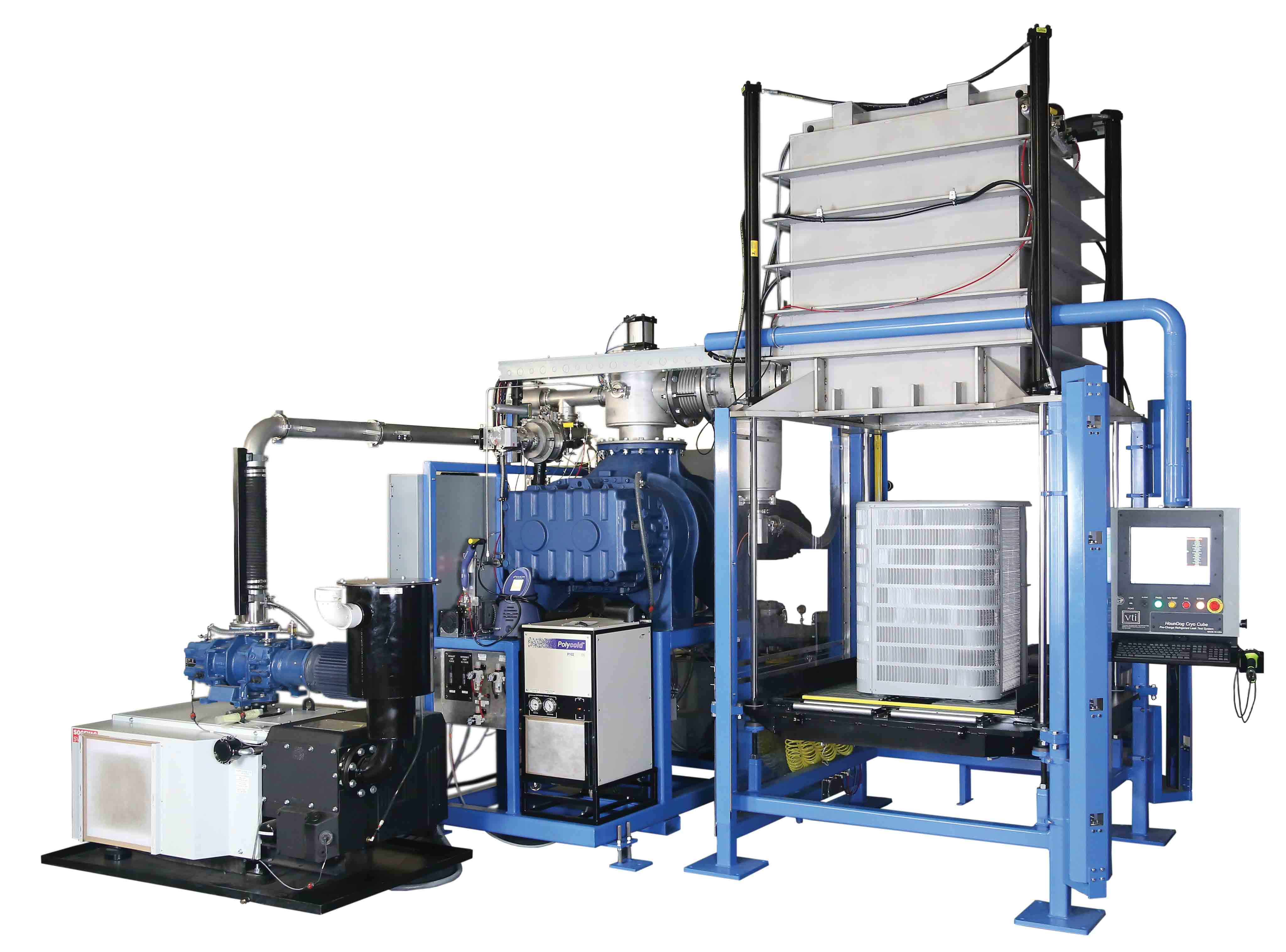 VTI's HounDog Cryocube Pre-Charged Refrigerant LTS for Condensing Unit Manufacturing