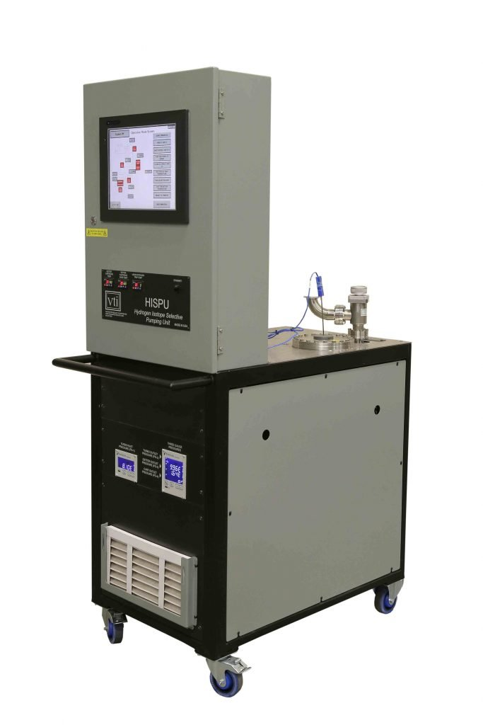 VTI's Hydrogen Isotope Selective Pumping Unit (HISPU)