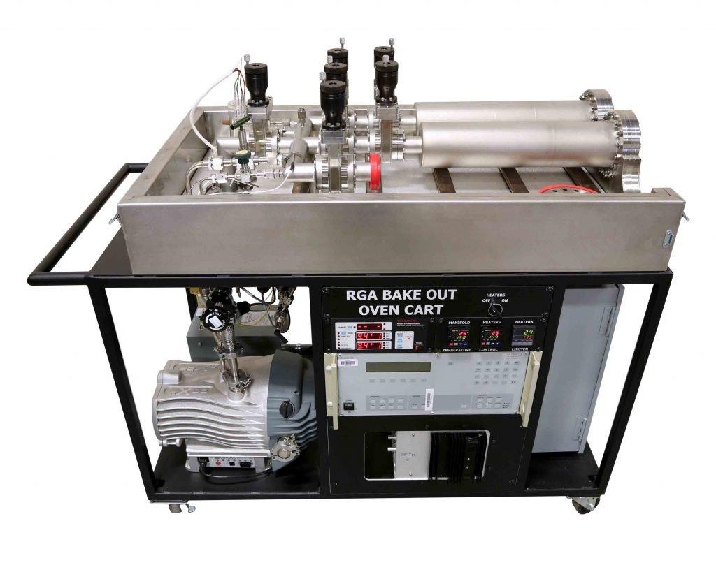 VTI's Residual Gas Analysis (RGA) Bake-Out Cart
