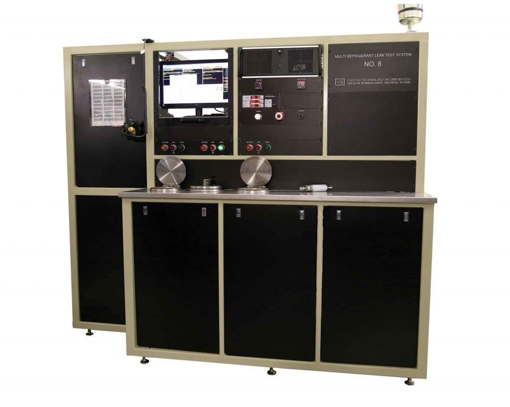VTI's Thermal Expansion Valve (TXV) Multi-Refrigerant Leak Test System