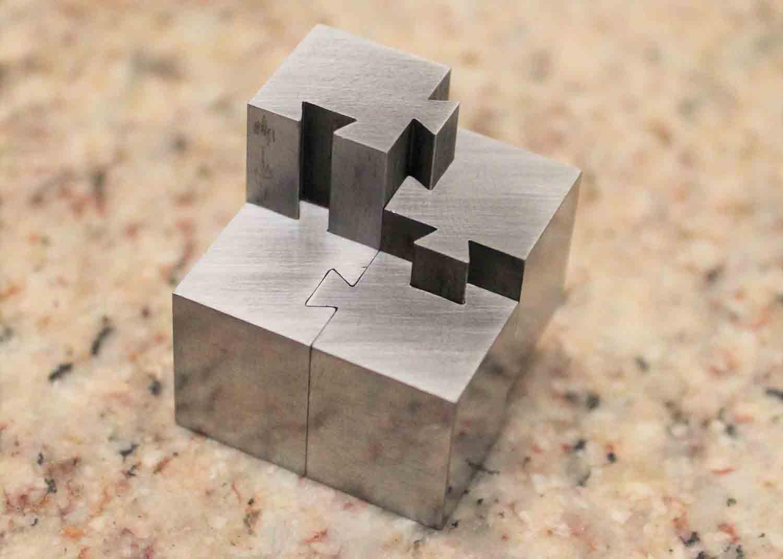 VTI's Wire EDM - Puzzle
