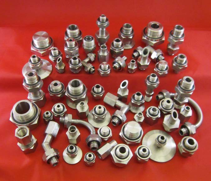 O-Seal fittings developed by Vacuum Technology Incorporated
