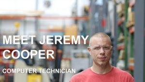 Jeremy Cooper helps engineers design and build industrial vacuum systems