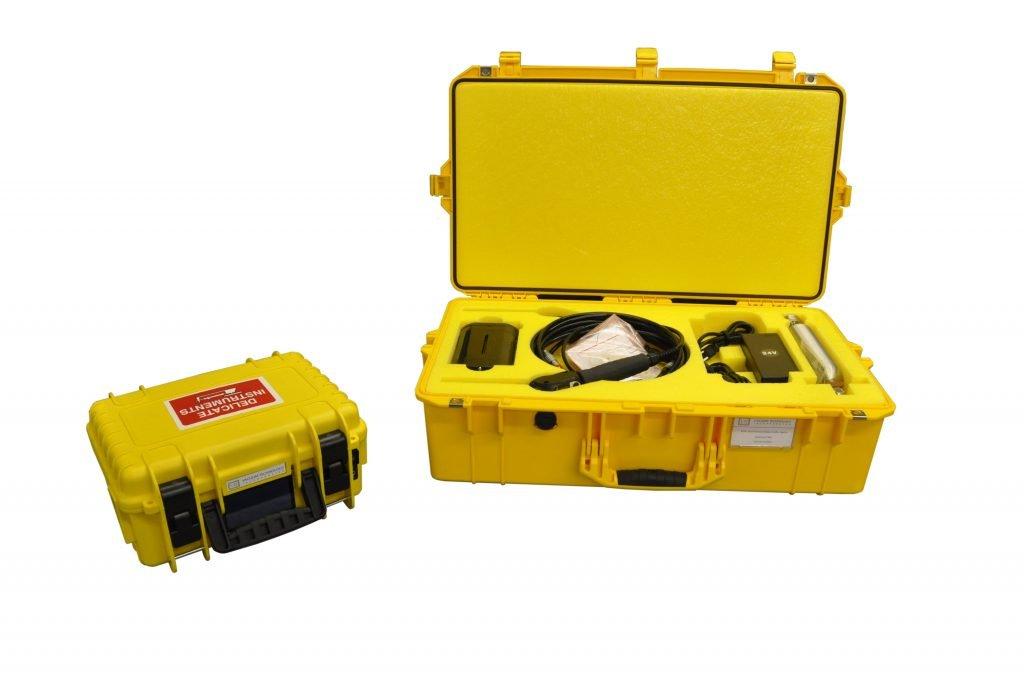 Vacuum Technology Incorporated's portable helium leak detector