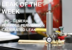 The General Purpose Permeation (GPP) calibrated leak flow standard from Vacuum Technology Incorporated (VTI)
